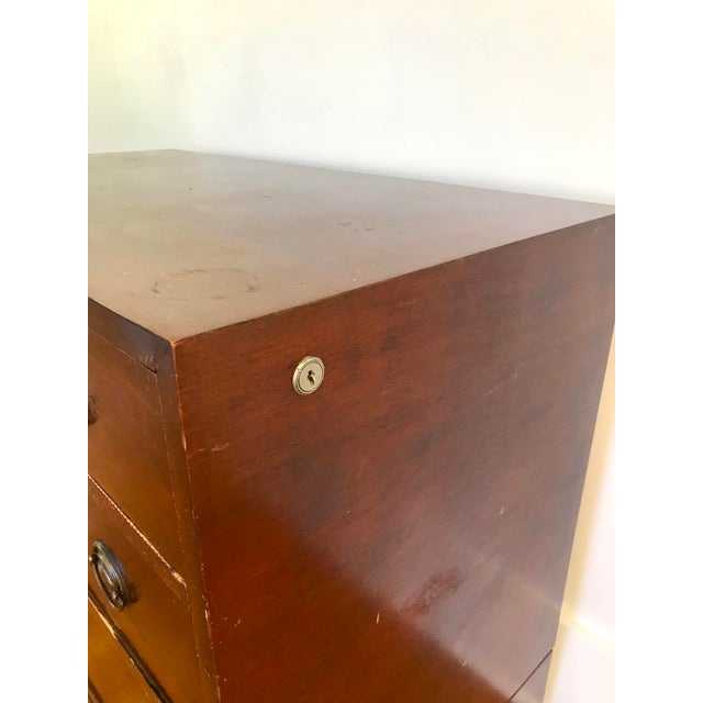 Wood Vintage Cavalier Stow Away Cedar Dresser For Sale - Image 7 of 13