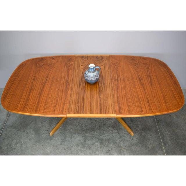 N.O. Moller / Gudme Danish Teak Dining Table For Sale In Portland, ME - Image 6 of 11