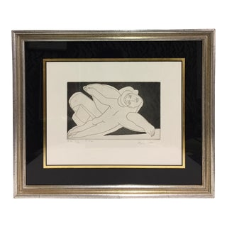 French Expressionist Figurative Etching
