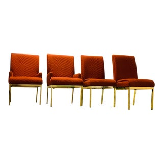 1970s Vintage Milo Baughmann Design Institute of America Dining Chairs- Set of 4 For Sale