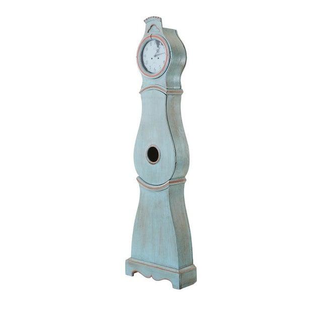 Gustavian (Swedish) Antique Swedish Mora Clock For Sale - Image 3 of 6
