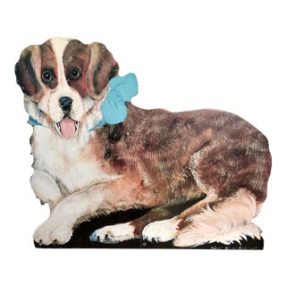 Reproduction Saint Bernard Dog Dummy Board For Sale