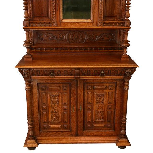 Renaissance Antique Belgian Renaissance Buffet For Sale - Image 3 of 8