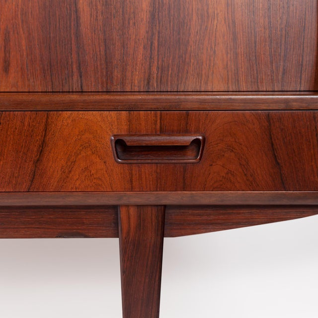 Danish Mid-Century Brazilian Rosewood Credenza/Sideboard For Sale - Image 4 of 8