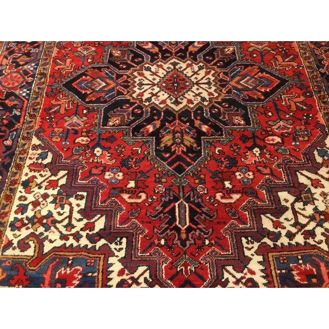 "Vintage Persian Heriz Rug - 6' x 8'5"" - Image 3 of 6"