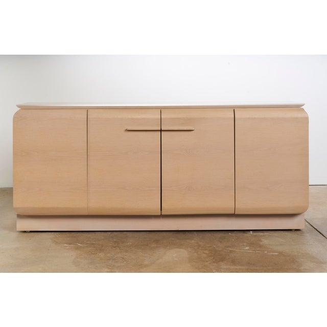 Ello Cerused Oak Cabinet For Sale - Image 9 of 9