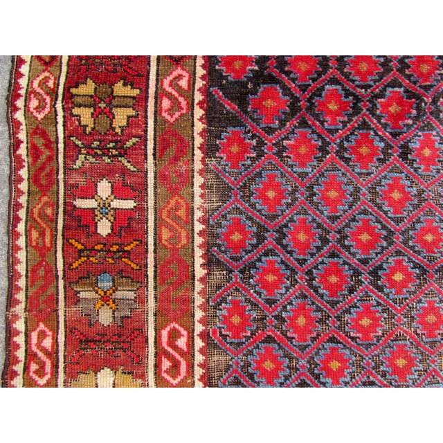 1910s, Handmade Antique Afghan Baluch Rug 3.1' X 5.9' For Sale - Image 12 of 13