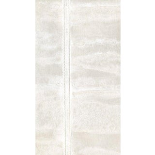 Sample, Maya Romanoff Stitched Vertical Hand-Painted - Hand-Painted Paper With Thread Wallcovering For Sale