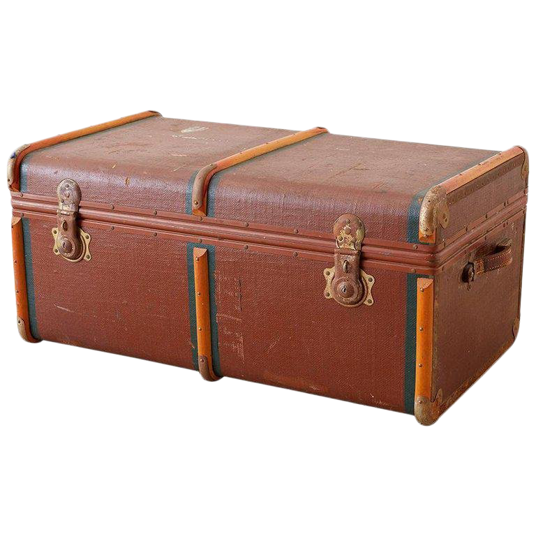 Vintage Used Trunks For Sale Chairish
