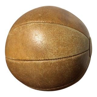 Vintage Large Medicine Ball For Sale