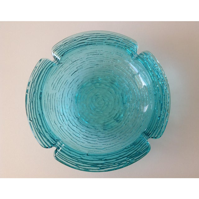 Anchor Hocking Vintage Teal Ashtray For Sale In West Palm - Image 6 of 8