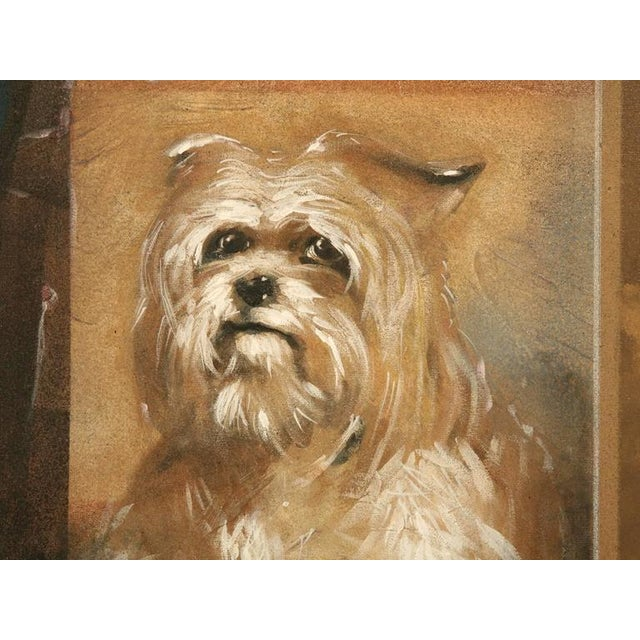"Zuleyka Benitez ""Dog in the Window"" Painting For Sale - Image 4 of 9"