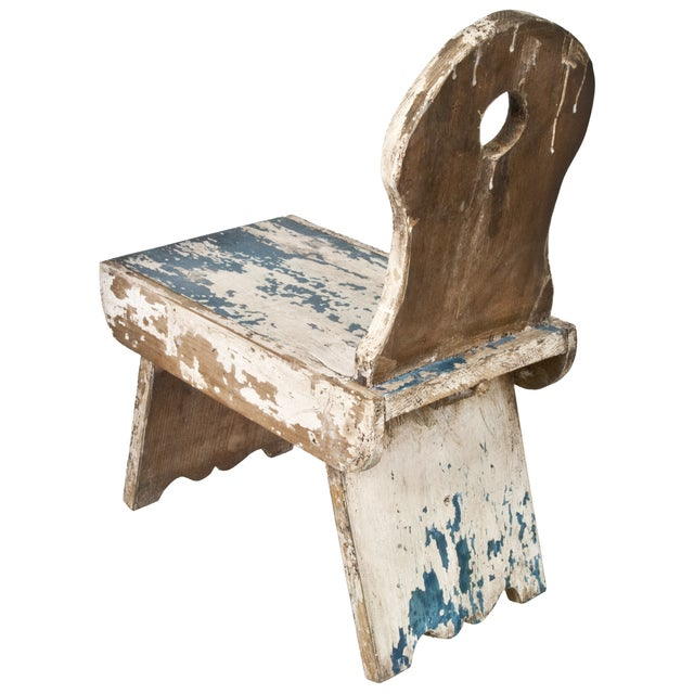 French Farmhouse Milking Stool - Image 3 of 5