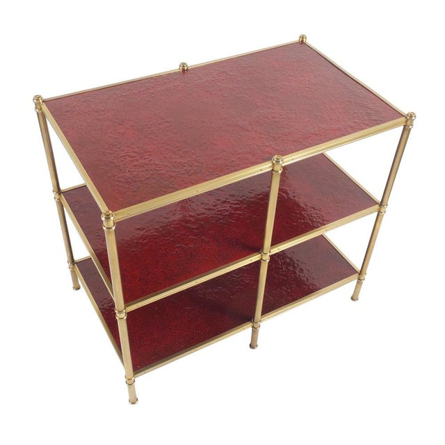 2010s Cole Porter Low Etagere Molten Gypsum Finish For Sale - Image 5 of 6