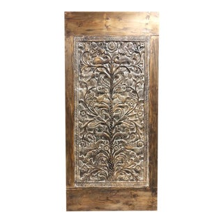 19th Century Vintage Hand Carved Tree of Life Doors For Sale