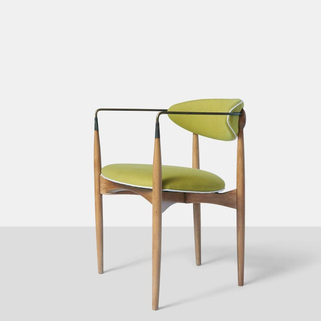 Mid-Century Modern Dan Johnson Set of Six Viscount Chairs For Sale - Image 3 of 8