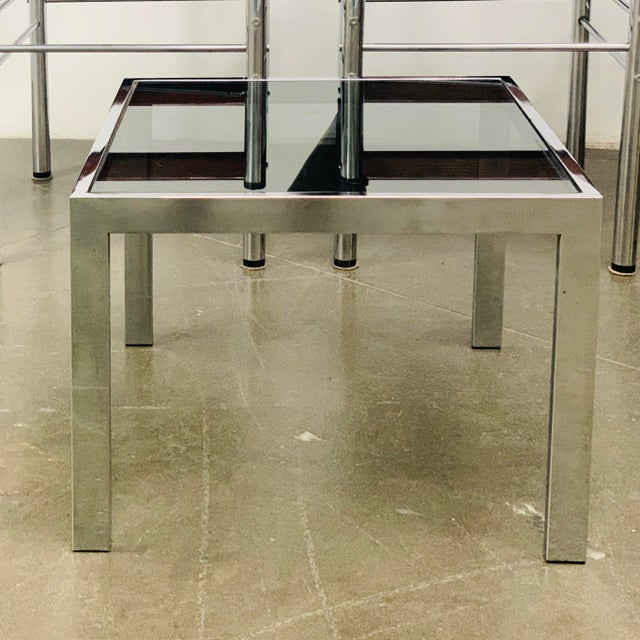 1970s Milo Baughman Side Tables - a Pair For Sale - Image 9 of 10