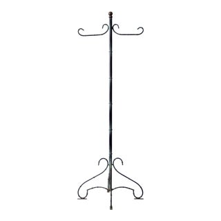 Vintage Metal Coat Rack For Sale