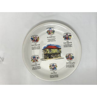 Charles Dickens Characters Display Plate Preview
