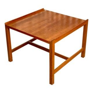 Mid Century Teak Side Table For Sale
