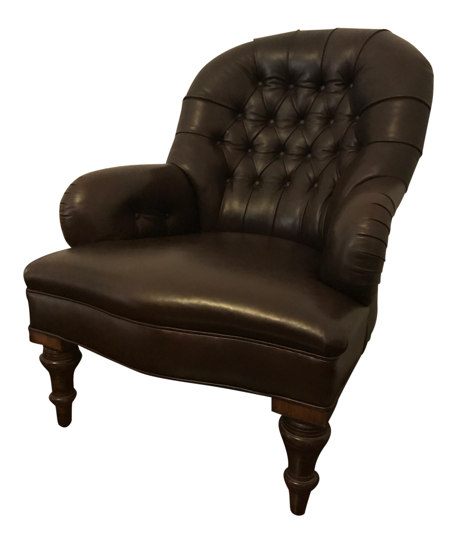 Ralph Lauren Home Collection Leather Reading Chair
