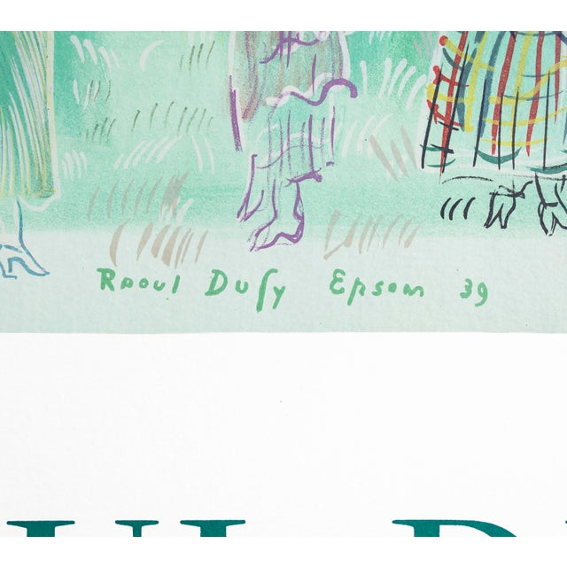 French Country 1969 French Raoul Dufy Exhibition Poster, Galerie Paul Petrides For Sale - Image 3 of 5