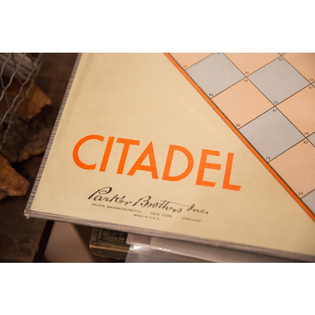 :: Vintage circa 1940s Parker Brothers Citadel board game. Listing is for just the board, would make such a great piece of...