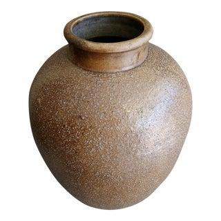 1940's Japanese Shigaraki Jar For Sale