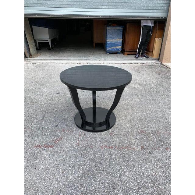 1940s Vintage Classic French Art Deco Accent Table For Sale - Image 10 of 13