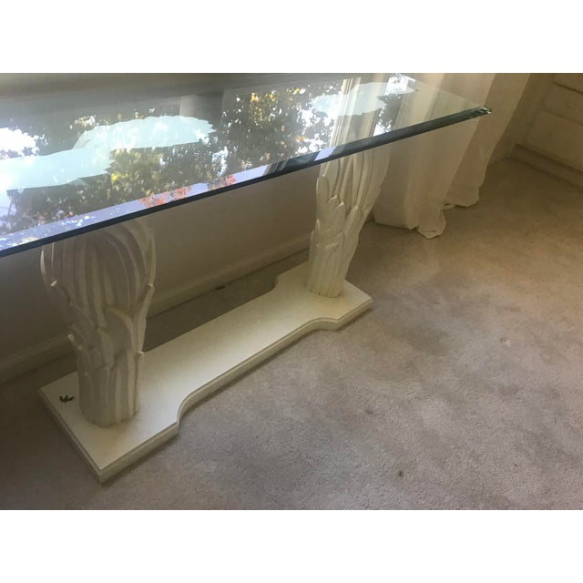 Serge Roche Style Palm Tree Console - Image 4 of 7