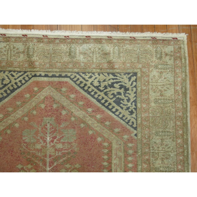 Turkish Anatolian Prayer Niche Rug - 4′2″ × 5′4″ - Image 10 of 10