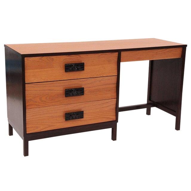 1960s Dunbar Ashwood Desk For Sale
