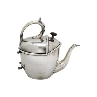 "Rare Vintage Hotelware Silver-Plate ""S-Y-P"" Teapot For Sale"