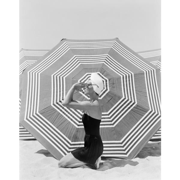 1953 Fashion Model Photo by John Engstead For Sale