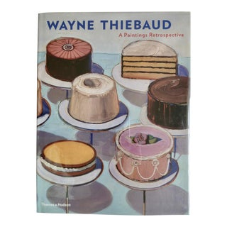 Wayne Thiebaud Retrospective Book For Sale