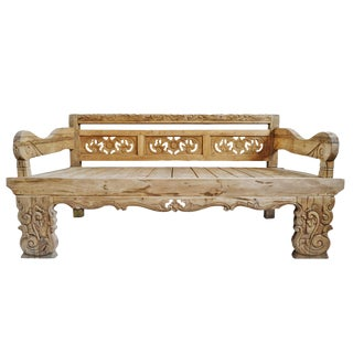 Bali Carved Daybed Twin For Sale