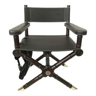 Ralph Lauren Home Canyon Director's Chair With Saddlebag (Unused) For Sale