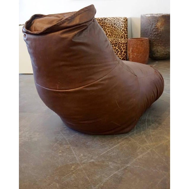 Animal Skin De Sede Boxing Glove Chair For Sale - Image 7 of 9