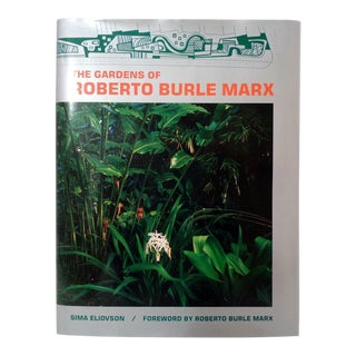 The Gardens of Roberto Burle Marx Landscape Architecture Book Hb/1995 For Sale