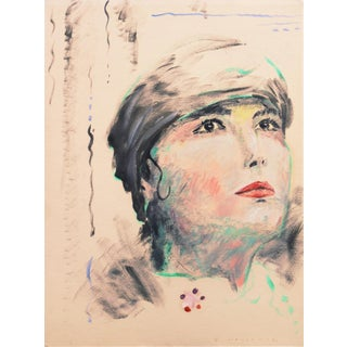Young Woman in a Turban' by David Mayernik, American Academy in Rome, Italy, Notre Dame For Sale