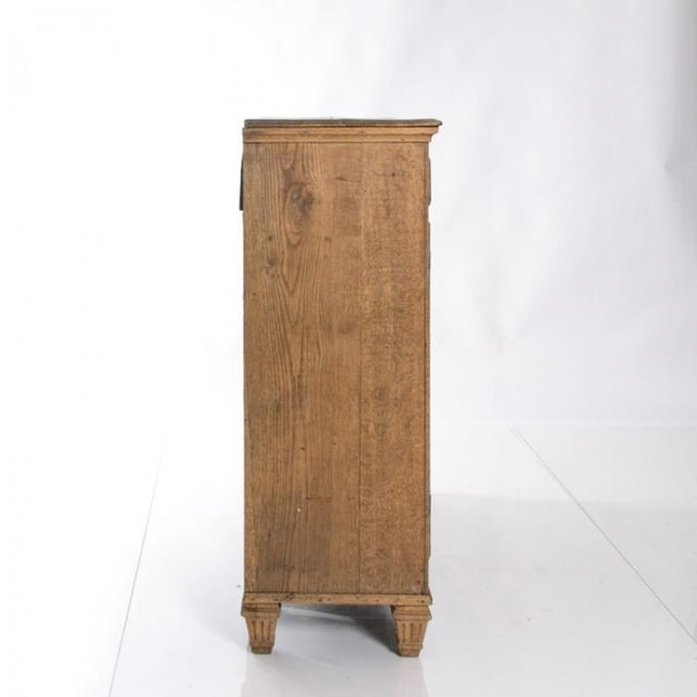 19TH CENTURY BLEACHED OAK BUFFET For Sale - Image 10 of 10