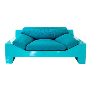 Chris Rucker, Indoor/Outdoor Powder-Coated Steel Lounge Sofa, USA, 2017 For Sale