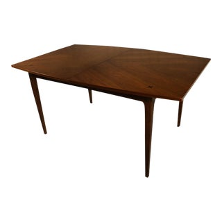 Mid-Century Modern American of Martinsville Walnut Dining Table