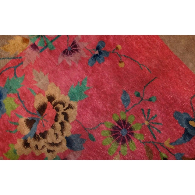 1920s Antique Art Deco Chinese Rug - 8′10″ × 11′8″ For Sale In New York - Image 6 of 10