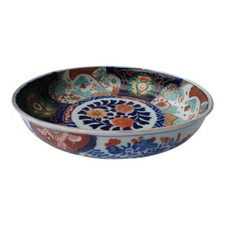 Large Early-Twentieth-Century Imari Bowl For Sale