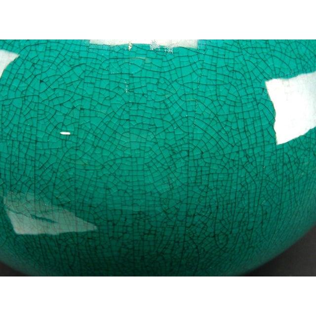 Chinese Crackle Glazed Ginger Jar - Image 5 of 11