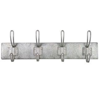 Vintage Inspired Zinc Coat Rack