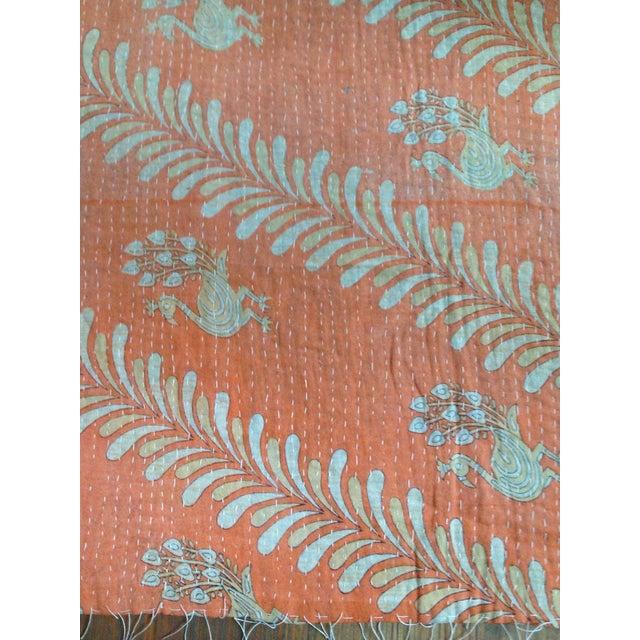 Vintage Indian Kantha Textile - Image 3 of 7