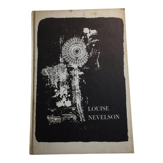 1967 Louise Nevelson Brooklyn Museum Book For Sale