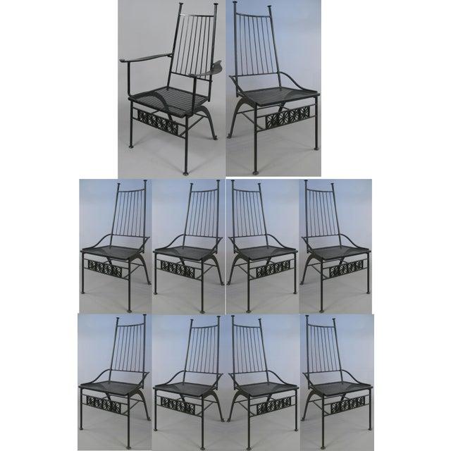 Set of Ten Rare Salterini El Prado Chairs For Sale - Image 13 of 13